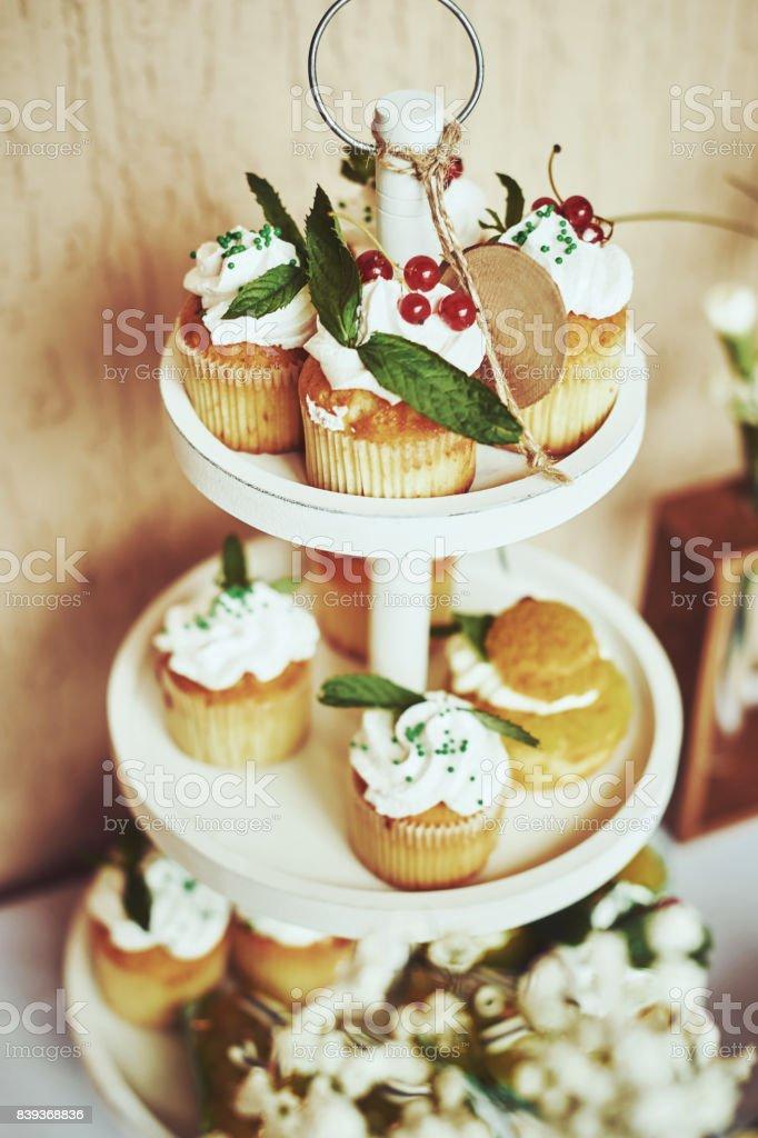 Wedding Reception Candy Bar Dessert Table Royalty Free Stock Photo