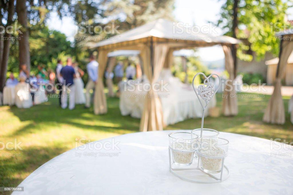Wedding Reception Outdoor Stock Photo More Pictures Of Arrangement