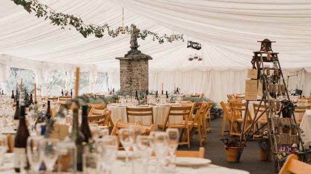 wedding reception - sala balowa zdjęcia i obrazy z banku zdjęć
