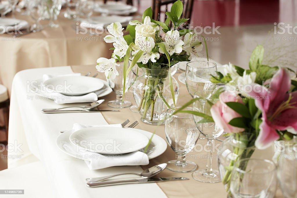Recepción de bodas - foto de stock
