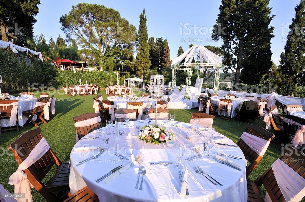 Wedding Reception royalty-free stock photo