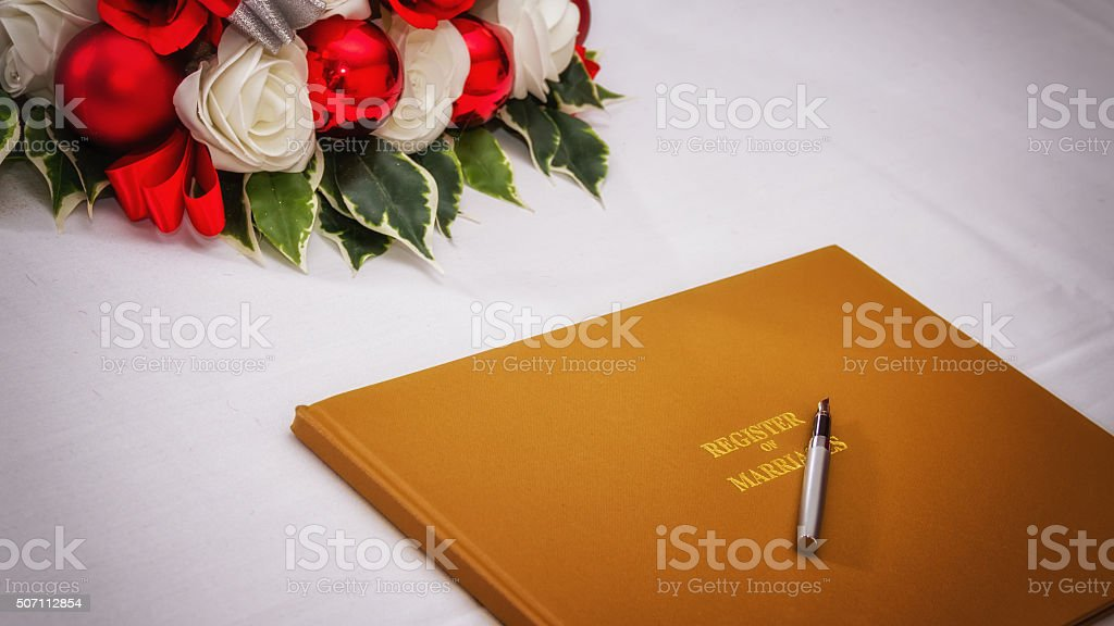 wedding register book stock photo more pictures of agreement