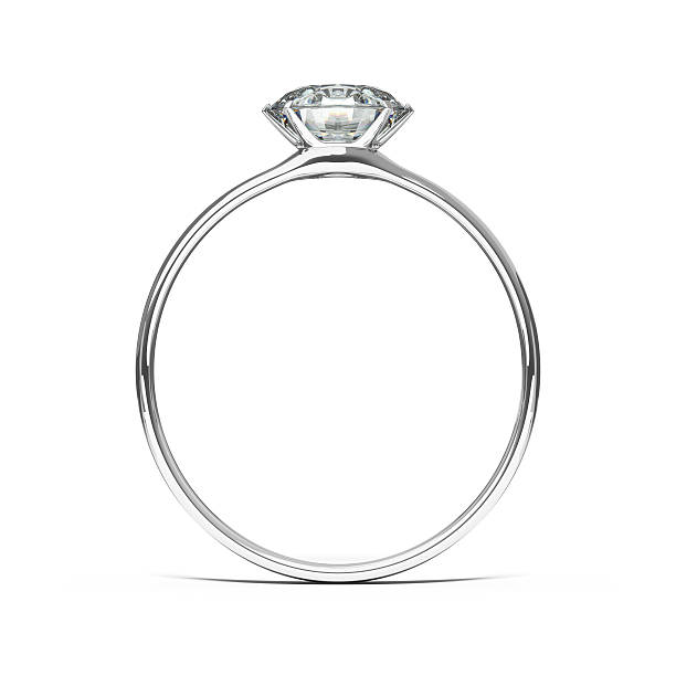 Wedding Ring, Diamond stock photo