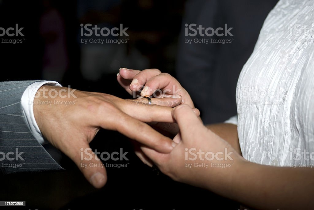 Wedding Ring Exchange Stock Photo More Pictures Of Adult Istock