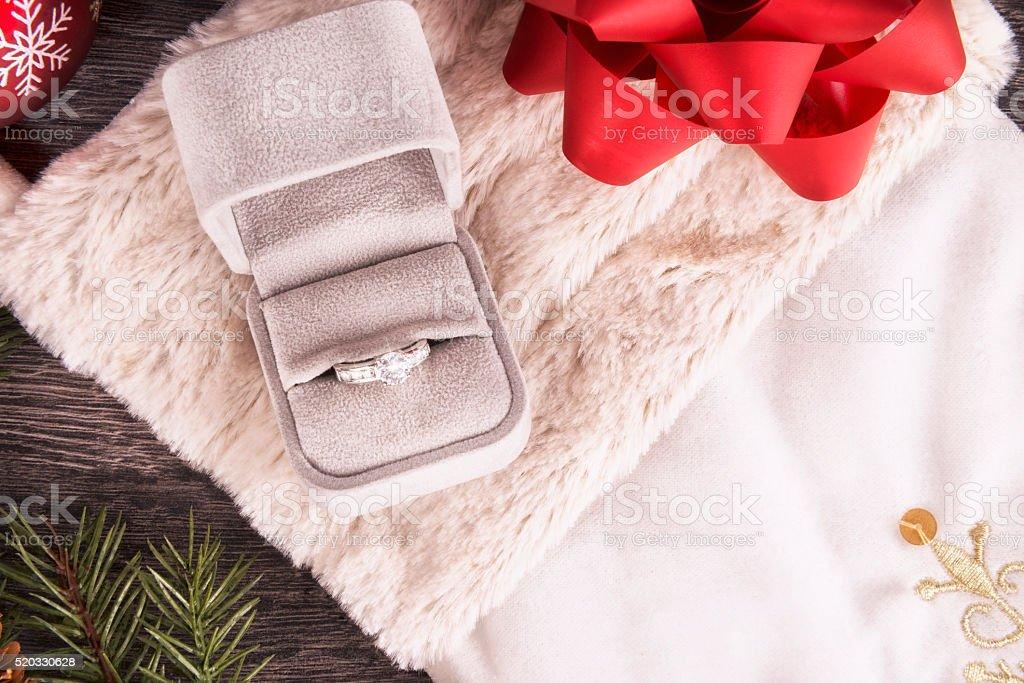 Anillo de bodas - foto de stock