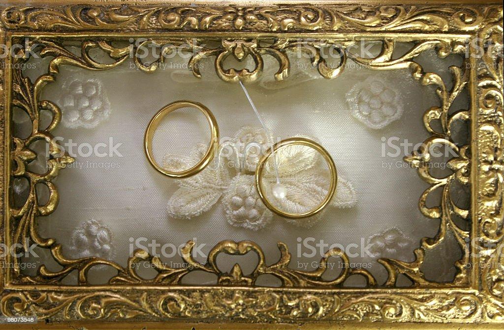 Fede nuziale foto stock royalty-free