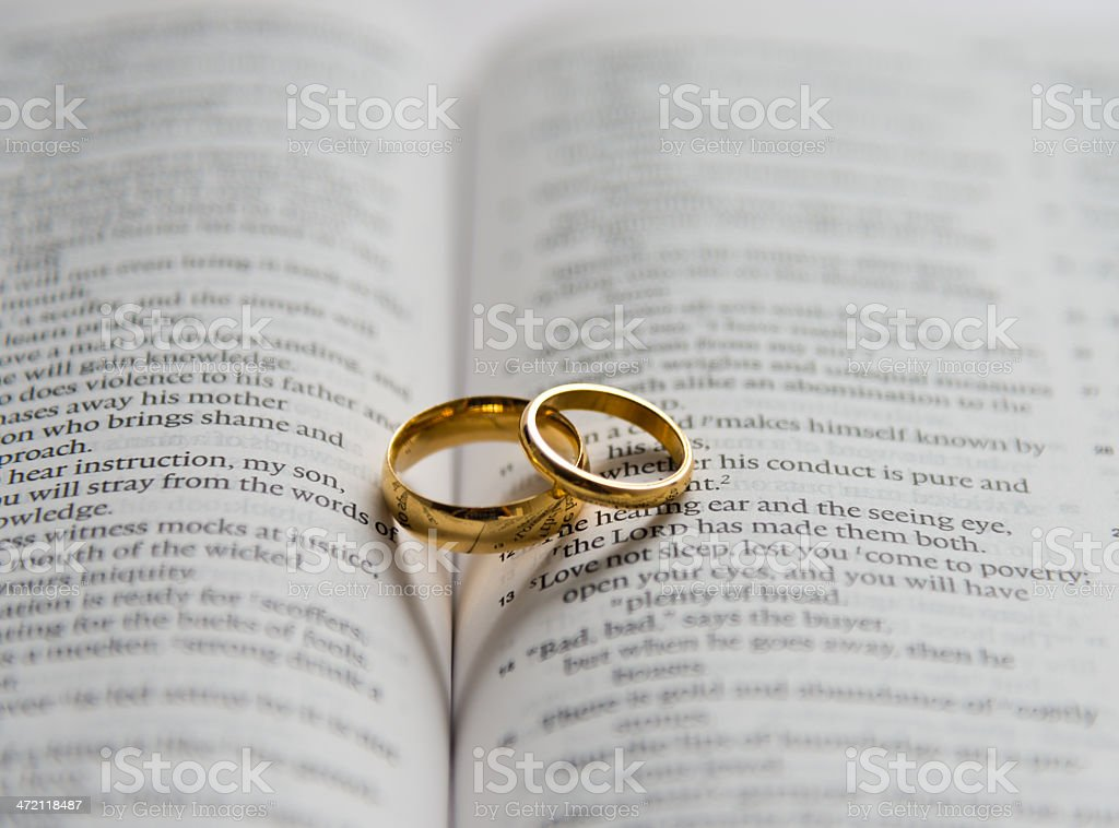 Royalty Free Heart Shape Spirituality Wedding Ring Book Pictures