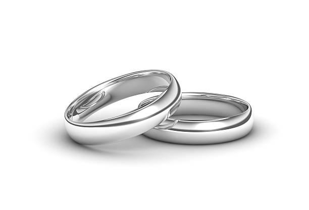 anneaux de mariage - bague photos et images de collection