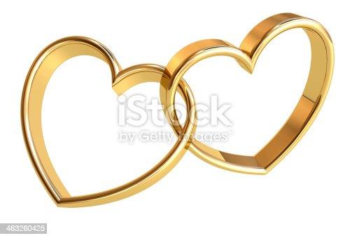 istock Wedding Rings 463260425