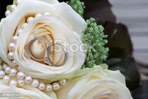 istock Wedding Rings 473913114
