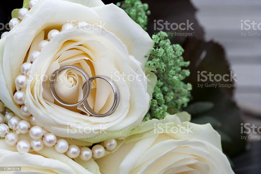 Alianças de casamento - foto de acervo