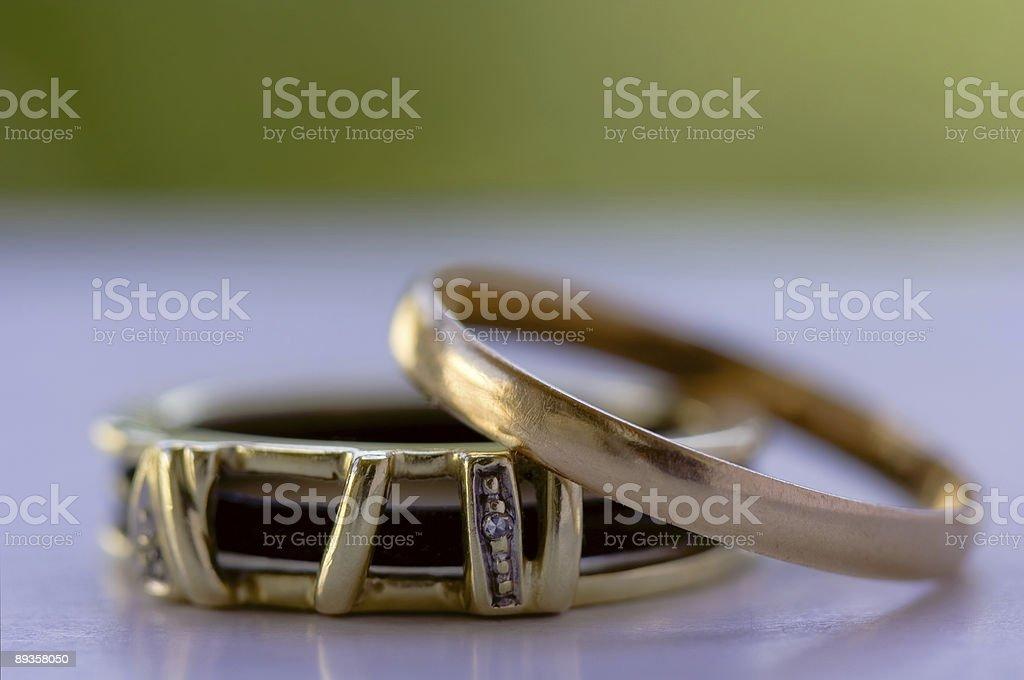 Wedding Rings royalty free stockfoto