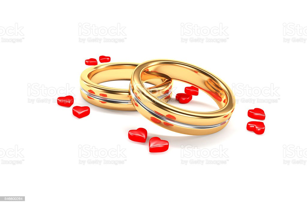 Wedding Rings Symbolize A Marriage Couple Stock Photo More