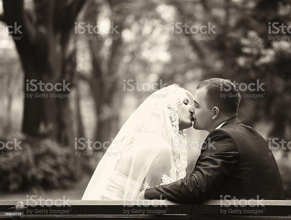 Wedding romance. royalty-free stock photo