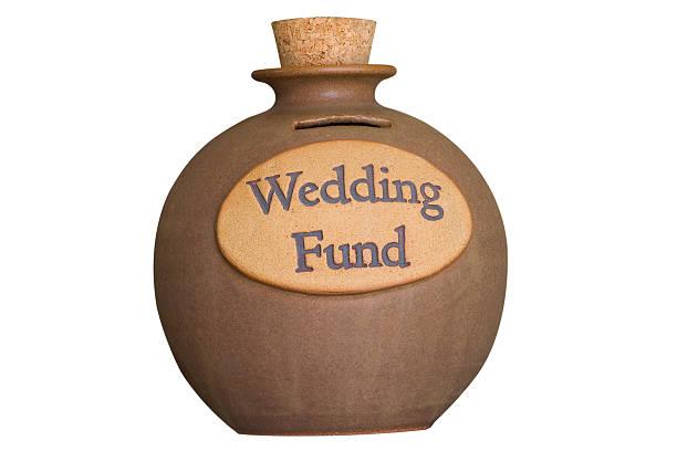 Wedding Savings Fund stock photo