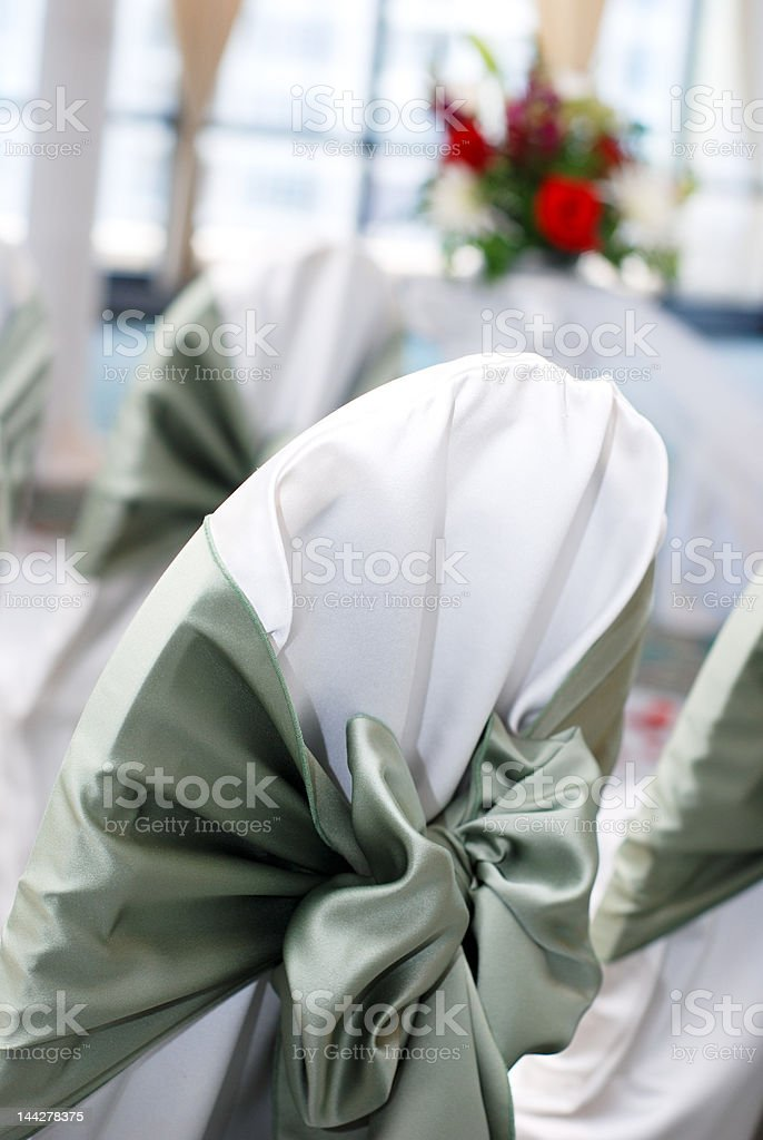 Wedding Setup royalty-free stock photo