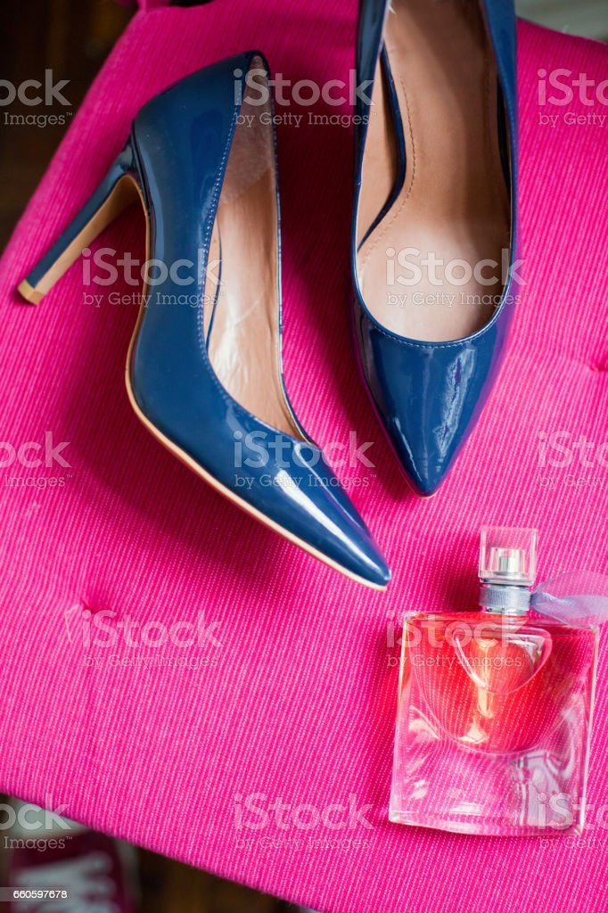 wedding shoes royalty-free stock photo