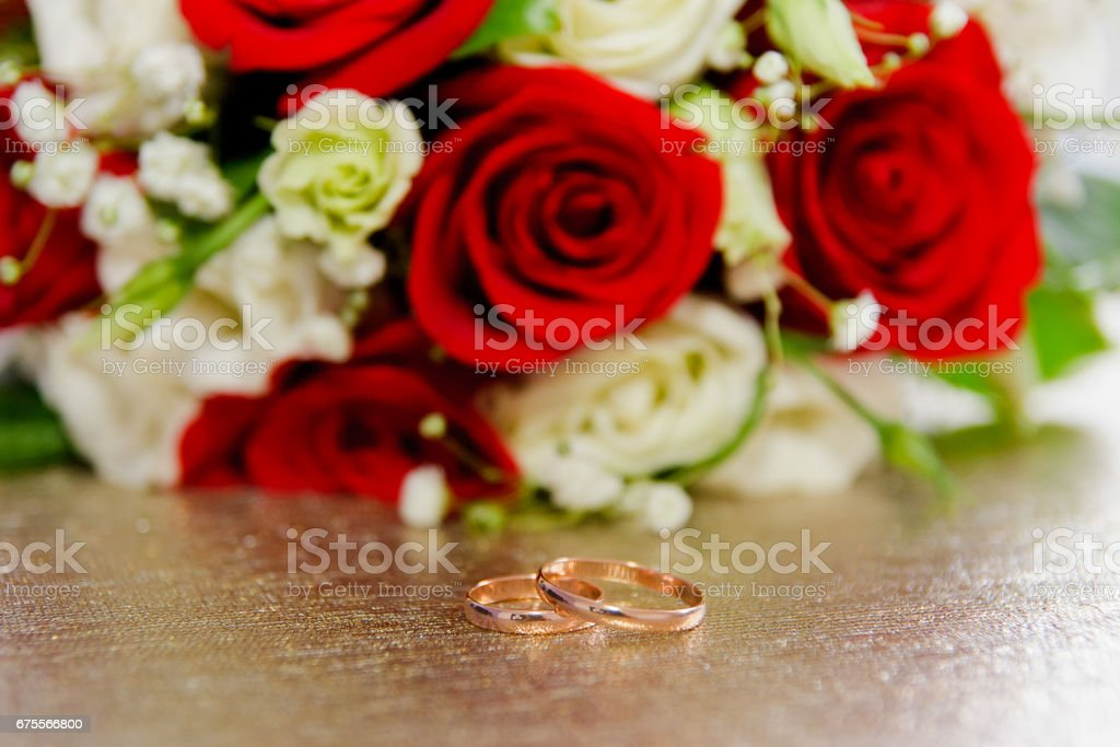 wedding sobry bride wedding ring macro stock photo