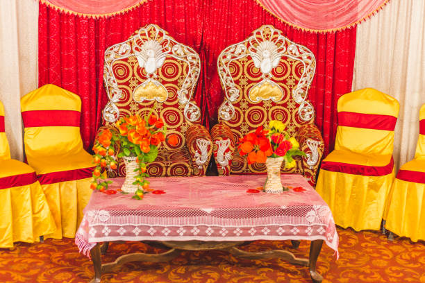 Royalty Free Indian Wedding Stage Decoration Background Pictures