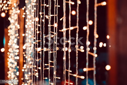 istock Wedding String Lights 1142949020