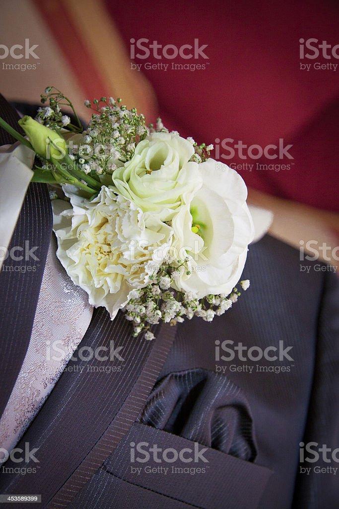 Wedding suit royalty-free stock photo