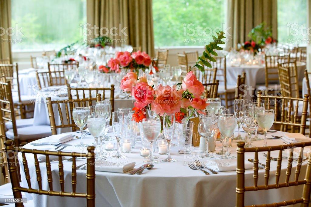 Hochzeit Tisch Dekorationserie Set Tische Für Schöne Indoor