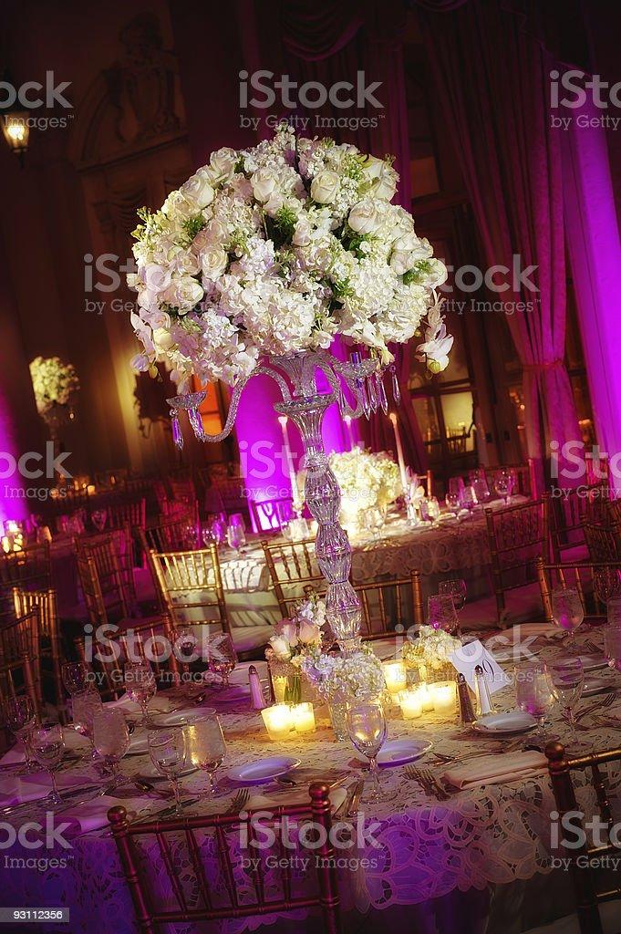 Wedding table - Royalty-free Bardak Stok görsel