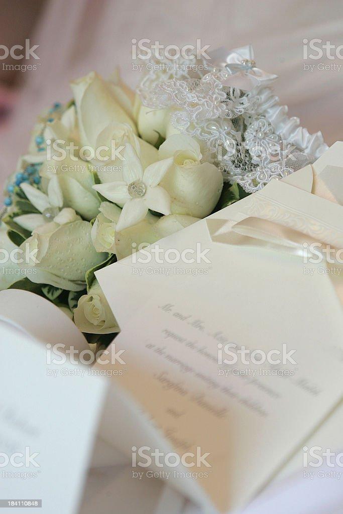 Wedding thingies stock photo