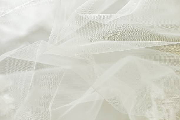 tiul tło wesele lub szyfon - tiul tkanina zdjęcia i obrazy z banku zdjęć