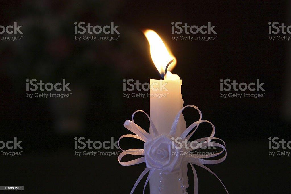 Wedding Unity Candle royalty-free stock photo