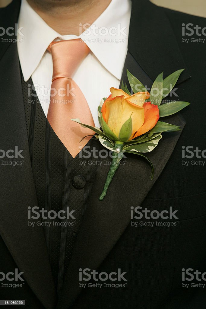 Wedding usher royalty-free stock photo