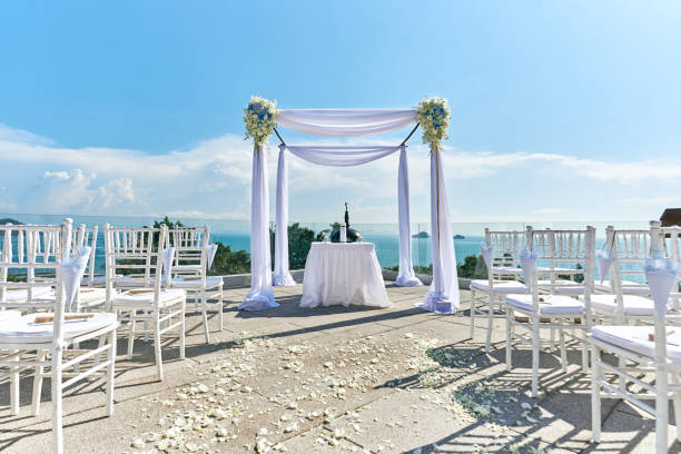 Wedding venue setting arch and altar decorated with roses flowers picture id942913742?b=1&k=6&m=942913742&s=612x612&w=0&h=hc2qq0mwidfng dg35yzn8z3ob85j0rul3hobruli o=