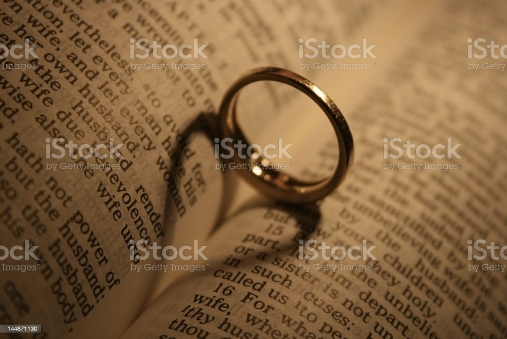 Wedding Vows stock photo