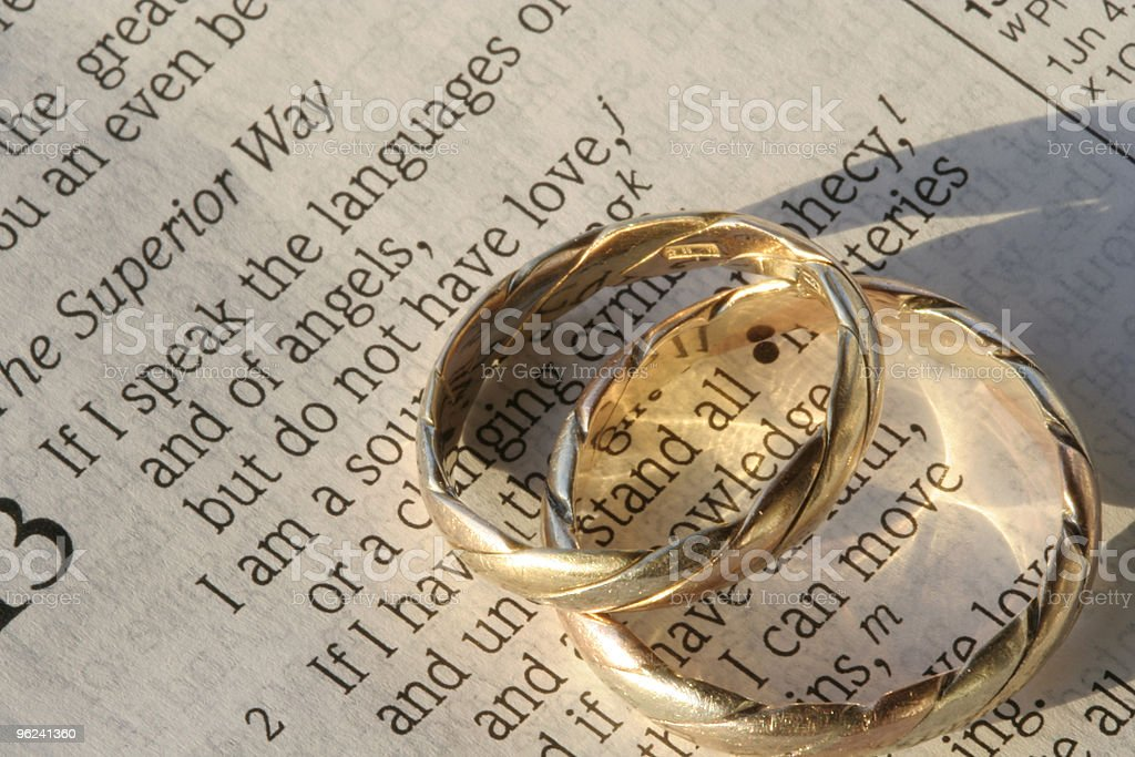 Wedding Vows royalty-free stock photo