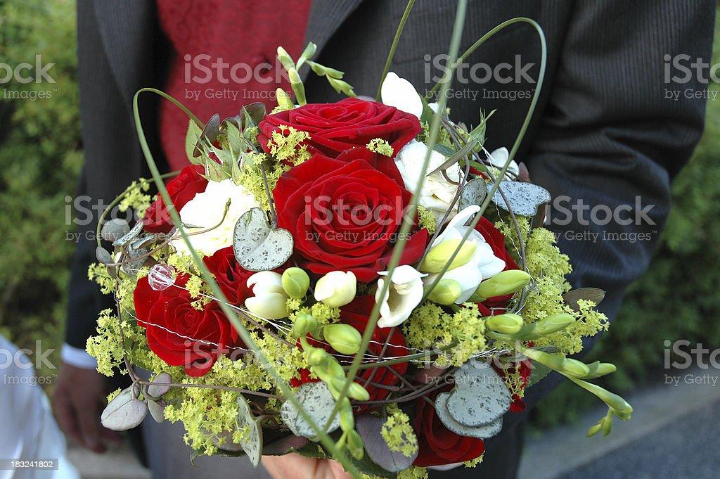 Weddingflowers stock photo