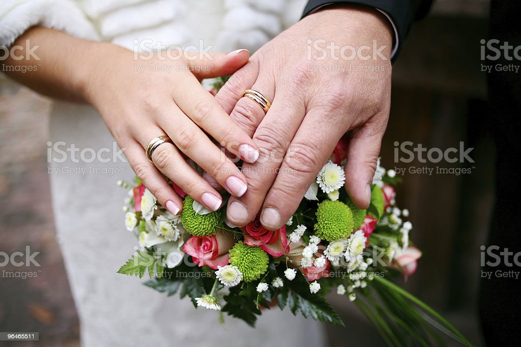 weddings rings royalty-free stock photo