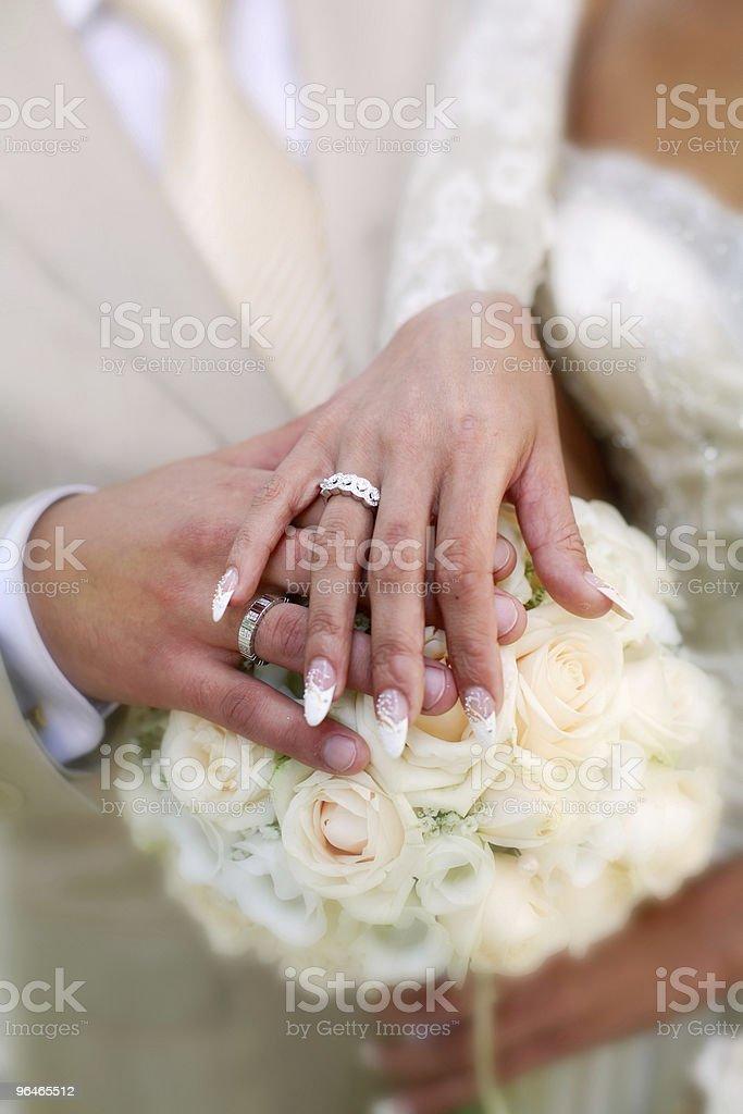 weddings rings royalty-free stock photo