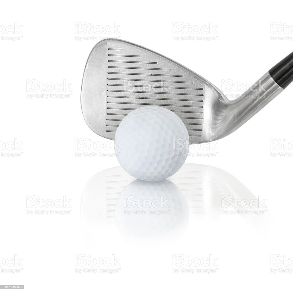 wedge and ball royalty-free stock photo