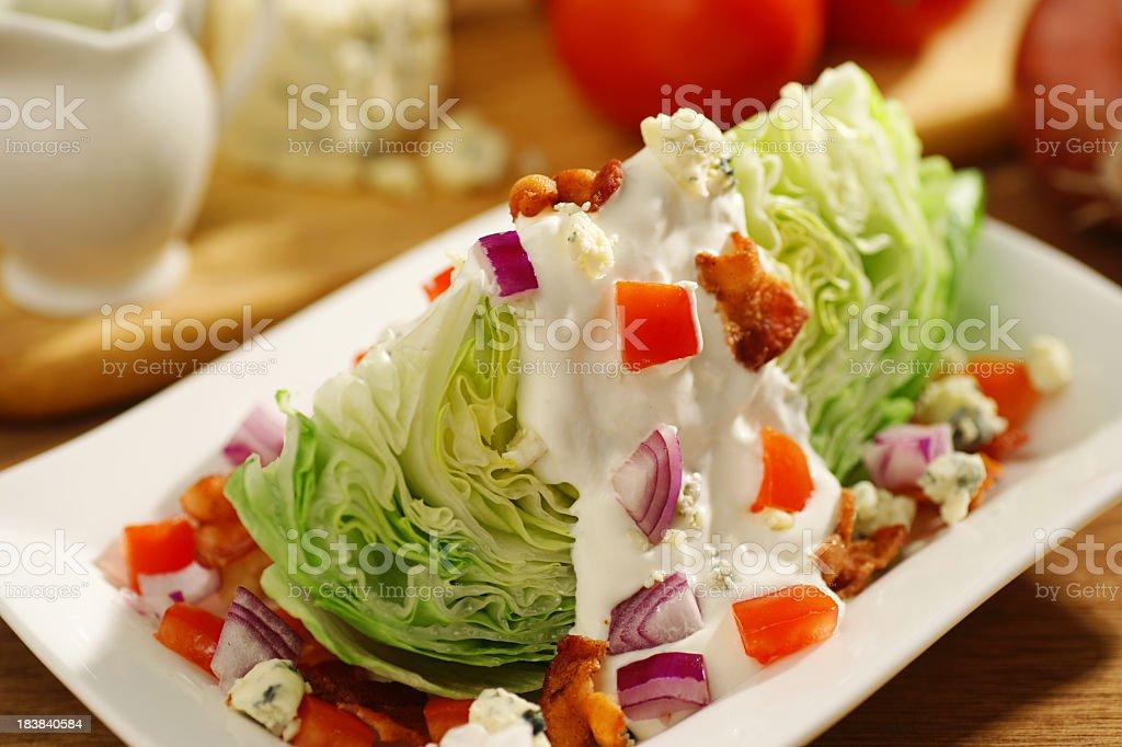Salat mit Zutaten – Foto