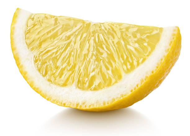 kil av gul citron citrus frukt isolerad på vit - citron bildbanksfoton och bilder