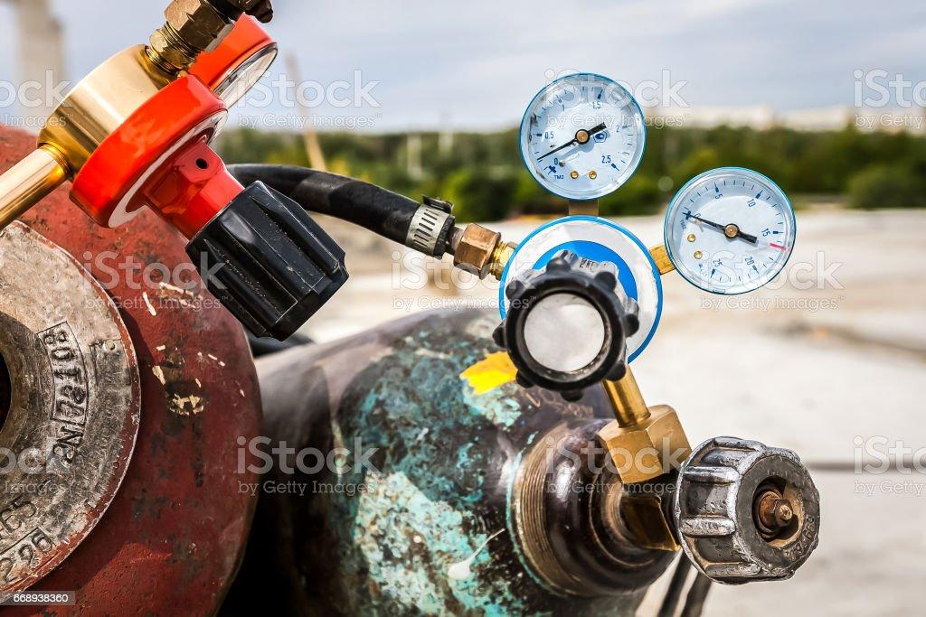 Wedling Gas und Druck-Manometer-Ventil – Foto