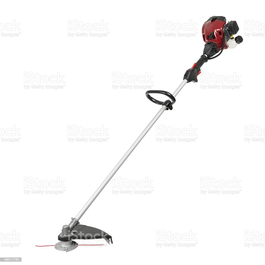 Weed Trimmer Isolated stock photo