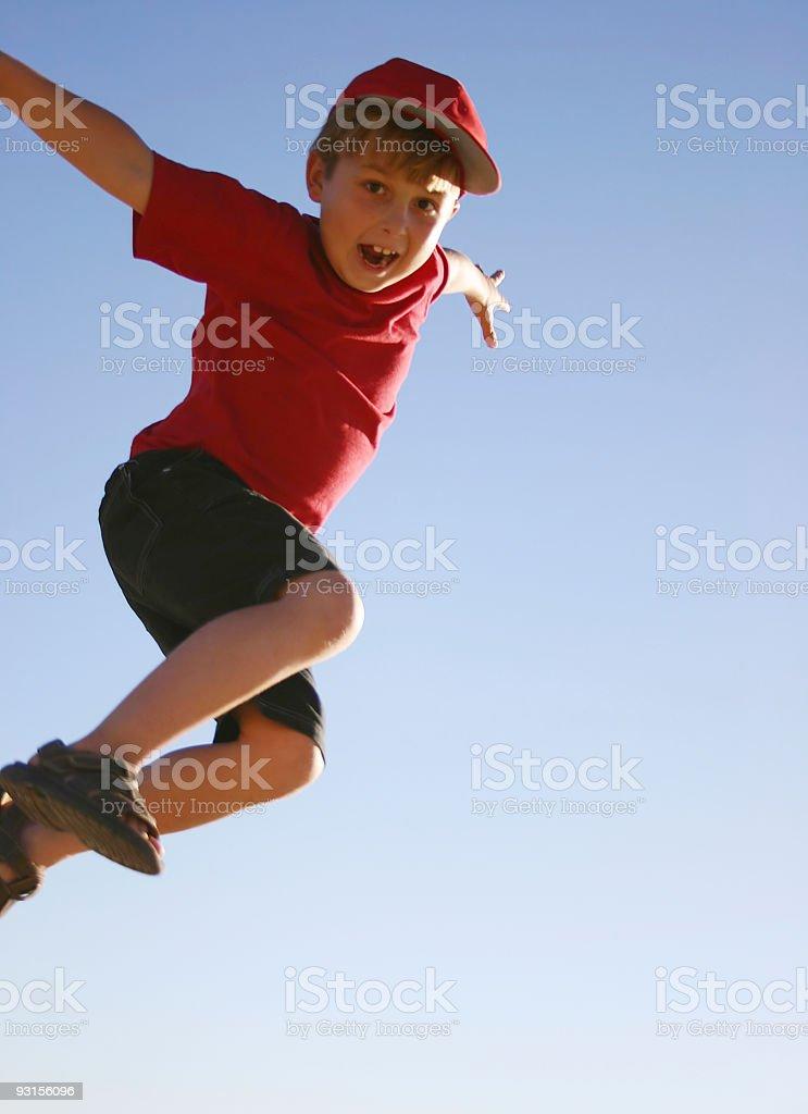 Weeeeee, posso voar - foto de acervo