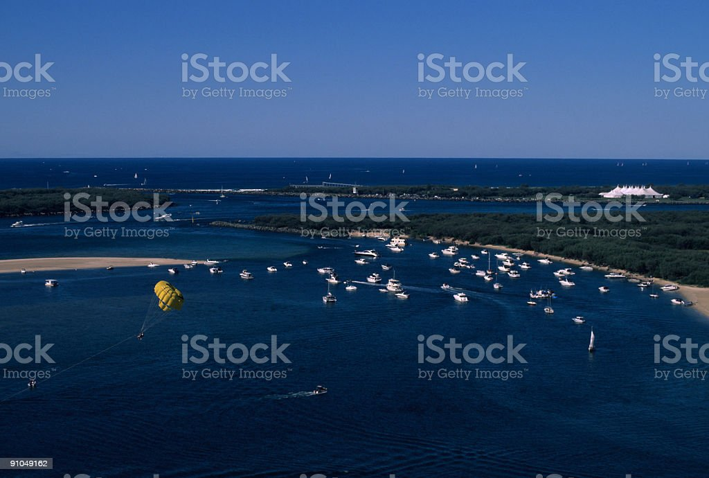 Weekend Boating royalty-free stock photo