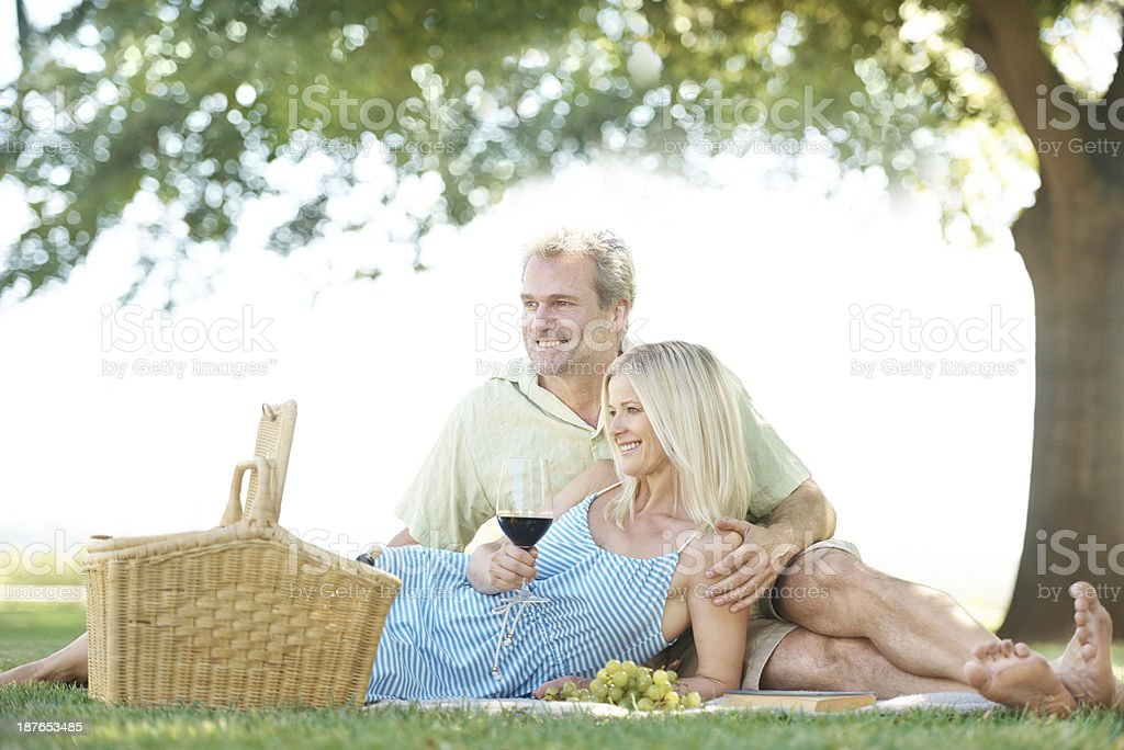 Weekend in the country royalty-free stock photo