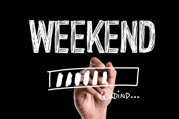 週末の読み込み - 週末の予定 ストックフォトと画像