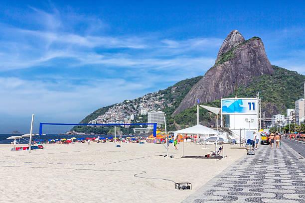 Weekend on Ipanema Beach in Rio de Janeiro Weekend on Ipanema Beach in Rio de Janeiro, Brazil lagoa rio de janeiro stock pictures, royalty-free photos & images