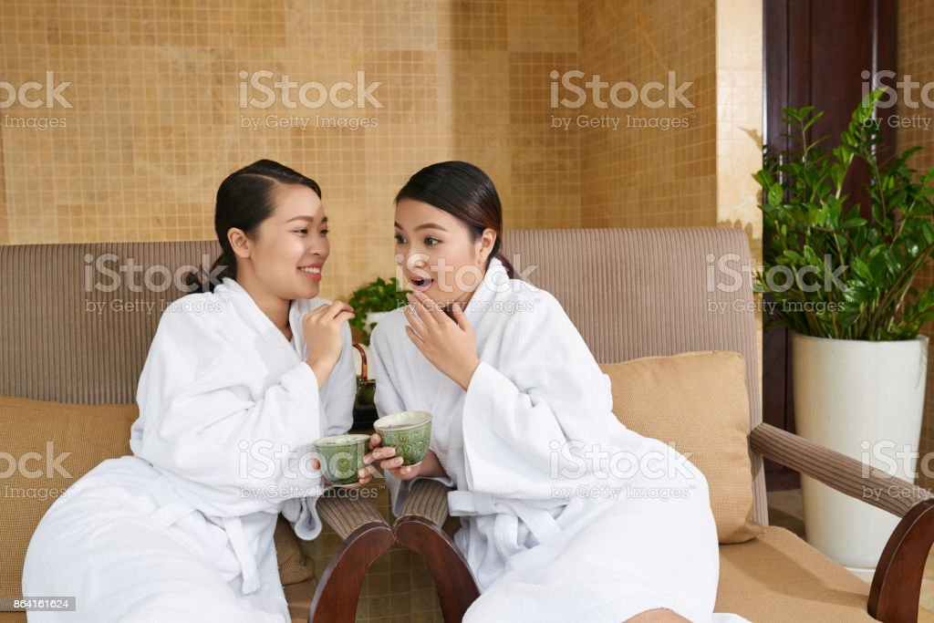 Weekend with best friend stock photo