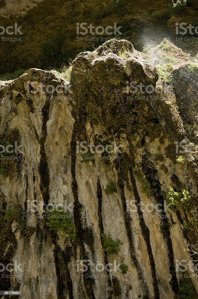 Weeping Rock royalty-free stock photo