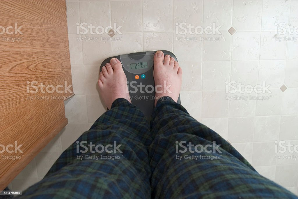 Weigh in royalty-free stock photo